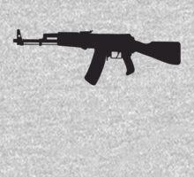 Machine Gun Rifle by retromoomin