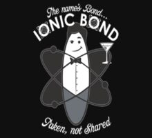 The Name's Bond Ionic Bond T-Shirt by NewTeez