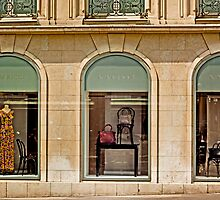 Haute Couture Avenue Montaigne Paris France by Buckwhite