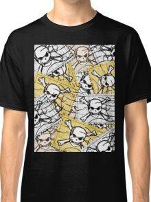 Funny Skull Stamp Classic T-Shirt