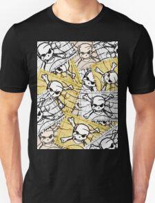 Funny Skull Stamp T-Shirt