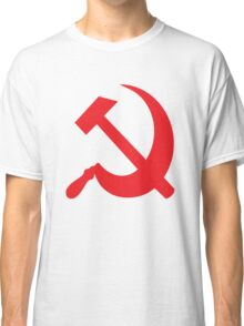 Communist Hammer Sickle Classic T-Shirt