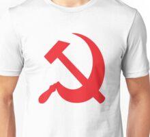 Communist Hammer Sickle Unisex T-Shirt