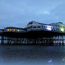 North Pier at Dusk. by Lilian Marshall