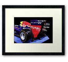 Rad Bull F1: Car Show in Johannesburg. Framed Print