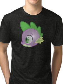 Spike Stylized Head Tri-blend T-Shirt