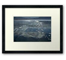 Reflection on a Beach Framed Print