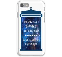Doctor who - Stories iPhone Case/Skin