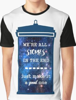 Doctor who - Stories Graphic T-Shirt
