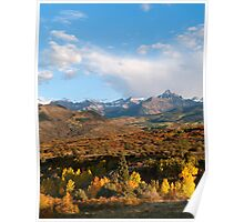 Autumn in the Sneffels Range Poster