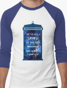 Doctor who - Stories Men's Baseball ¾ T-Shirt