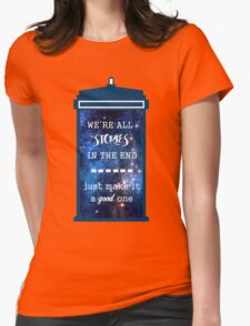 Doctor who - Stories Womens Fitted T-Shirt