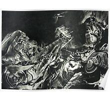Odysseus & Athena Poster