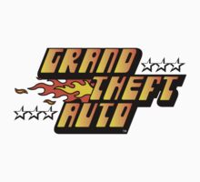 Grand Theft Auto (First, Original Logo) Kids Clothes