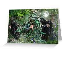 Morris & Mayhem Calendar - May- Wild Hunt Greeting Card