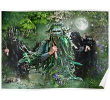 Morris & Mayhem Calendar - May- Wild Hunt Poster