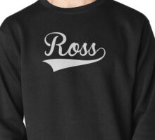 Baseball Style Ross (White) Pullover