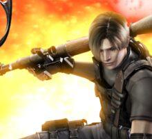 Resident Evil 4 - Leon Sticker