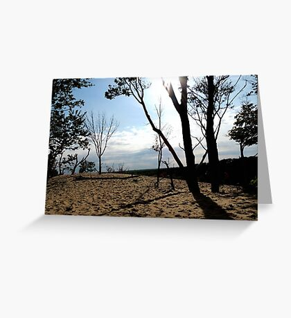 Top of the Dune 3 Greeting Card