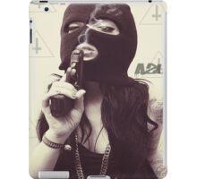 Unholy Girl In Mask  iPad Case/Skin