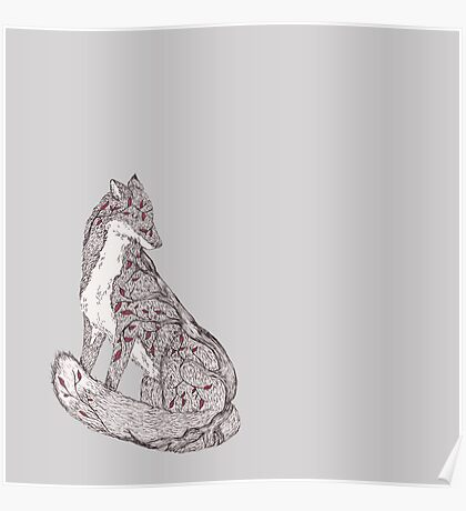 The Second Little Red Leaf Tree Fox Poster