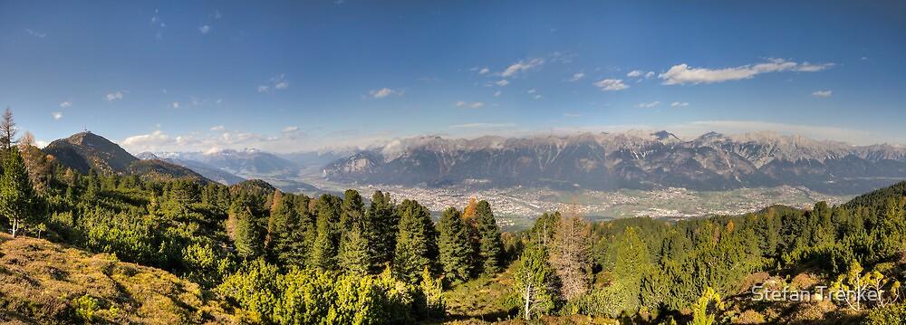 Walking along the Zirbenweg - A PanoramicView by Stefan Trenker