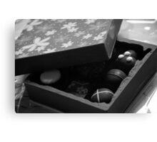 Monochrome Chocolate Box Canvas Print