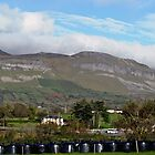Benbulben Mountain Landscape, Ireland by JoeTravers