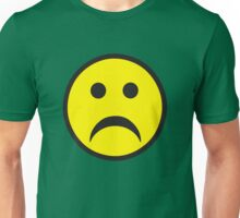 Unsmiley Acid House Sad Face Unisex T-Shirt