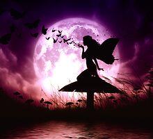 Butterfly Keeper Fairy by JulieFainArt
