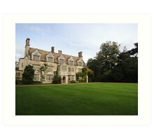 Anglesey Abbey Art Print