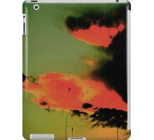 Fire in the Sky. iPad Case/Skin