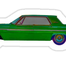 1963 Plymouth Fury Sticker