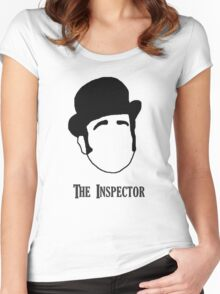 Tee: Inspector Edmund Reid Women's Fitted Scoop T-Shirt