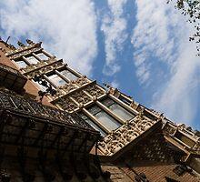 Barcelona's Marvelous Architecture - Avenue Diagonal Facade by Georgia Mizuleva