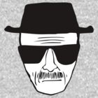Walter Heisenberg Breaking Bad Drawing w/ White by doodlemarks