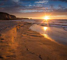 Santa Cruz sunset by Raj Golawar