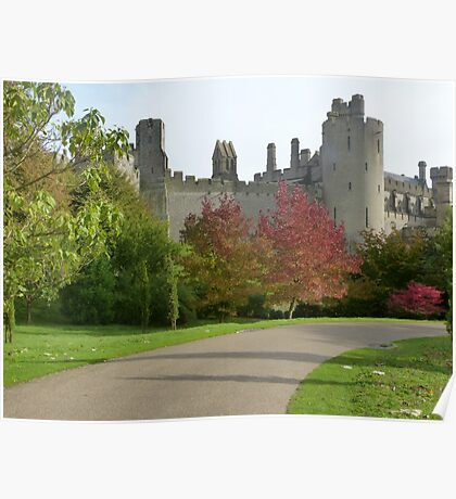 The grounds of Arundel castle Poster