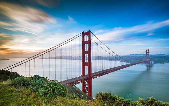 Golden Gate by Raj Golawar