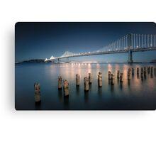 The Bay Bridge Natural Canvas Print