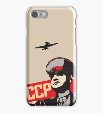 Soviet Red  Army  iPhone Case/Skin