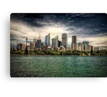 Sydney HDR Canvas Print