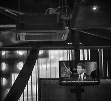 Sky Sports in a Bar by Glen Allen