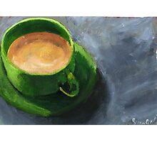 Coffee time Photographic Print