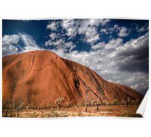 Uluru HDR Poster