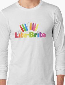 Lite Brite- Retro Toys Long Sleeve T-Shirt