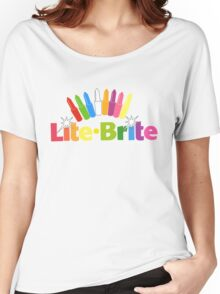Lite Brite- Retro Toys Women's Relaxed Fit T-Shirt