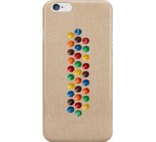 M&M's keyboard iPhone Case/Skin