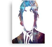 Doctor Who Eighth Doctor Silhouette  Canvas Print