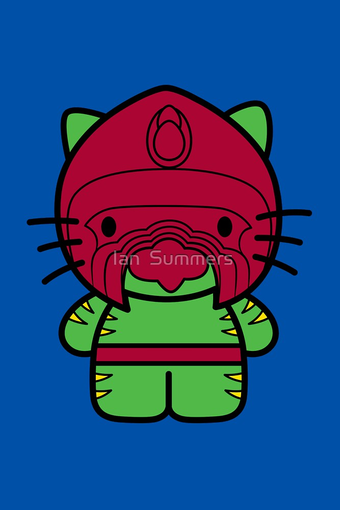 Hello Battle Kitty by Ian  Summers